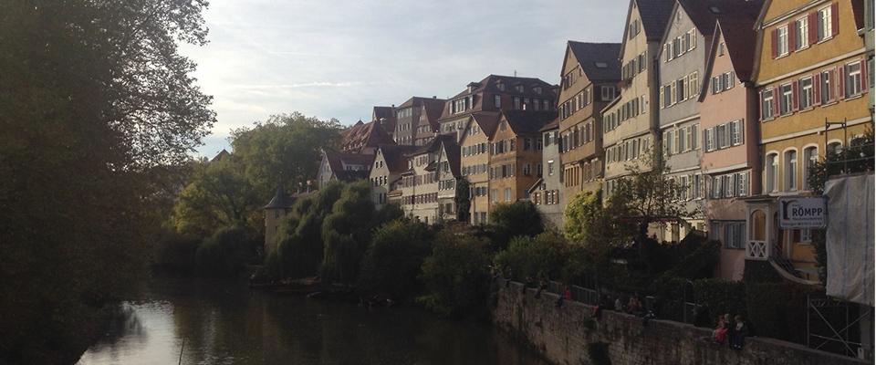University of Tuebingen where I studied in Germany